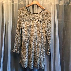Kimchi Blue Urban Outfitters b&w mini dress